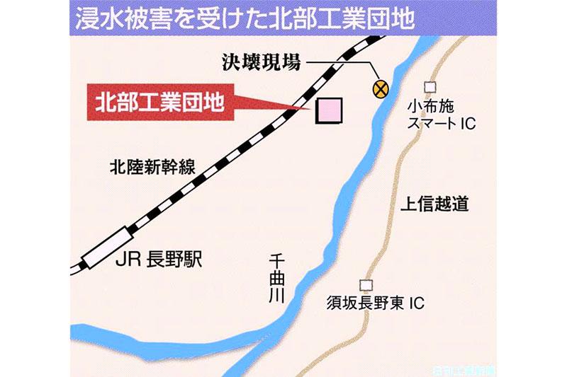 千曲 川 ハザード マップ